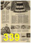 1960 Sears Spring Summer Catalog, Page 339