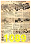 1958 Sears Spring Summer Catalog, Page 1089