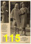 1961 Sears Spring Summer Catalog, Page 115