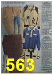 1979 Sears Fall Winter Catalog, Page 563