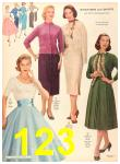 1956 Sears Fall Winter Catalog, Page 123