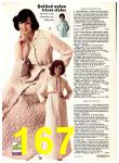 1974 Sears Fall Winter Catalog, Page 167