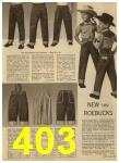 1960 Sears Spring Summer Catalog, Page 403