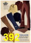 1972 Sears Fall Winter Catalog, Page 392