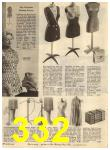 1960 Sears Spring Summer Catalog, Page 332