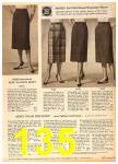 1958 Sears Fall Winter Catalog, Page 135