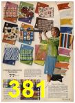 1962 Sears Spring Summer Catalog, Page 381