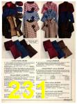 1973 Sears Fall Winter Catalog, Page 231