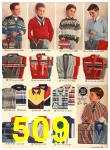 1958 Sears Fall Winter Catalog, Page 509