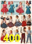 1956 Sears Fall Winter Catalog, Page 400