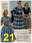 1960 Sears Spring Summer Catalog, Page 21