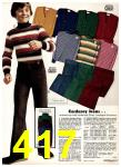 1975 Sears Fall Winter Catalog, Page 417