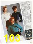 1985 Sears Fall Winter Catalog, Page 103