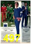 1977 Sears Spring Summer Catalog, Page 497