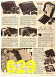 1956 Sears Fall Winter Catalog, Page 629