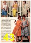 1962 Montgomery Ward Spring Summer Catalog, Page 43