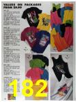 1992 Sears Summer Catalog, Page 182
