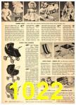 1949 Sears Spring Summer Catalog, Page 1022