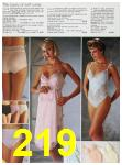 1985 Sears Spring Summer Catalog, Page 219