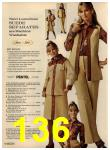 1972 Sears Fall Winter Catalog, Page 136