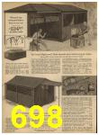 1962 Sears Spring Summer Catalog, Page 698