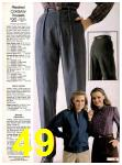 1982 Sears Fall Winter Catalog, Page 49