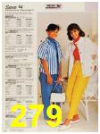 1987 Sears Spring Summer Catalog, Page 279