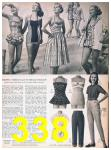 1957 Sears Spring Summer Catalog, Page 338