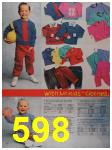 1988 Sears Fall Winter Catalog, Page 598
