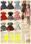1958 Sears Fall Winter Catalog, Page 419