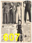 1982 Sears Fall Winter Catalog, Page 607