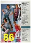 1986 Sears Spring Summer Catalog, Page 86