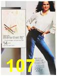 1987 Sears Fall Winter Catalog, Page 107