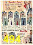 1940 Sears Fall Winter Catalog, Page 494