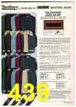 1975 Sears Fall Winter Catalog, Page 439