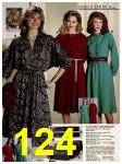 1982 Sears Fall Winter Catalog, Page 124