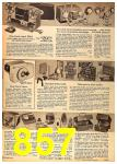 1962 Sears Fall Winter Catalog, Page 857