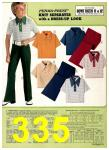 1974 Sears Spring Summer Catalog, Page 335