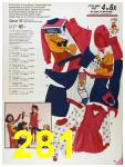 1986 Sears Fall Winter Catalog, Page 281