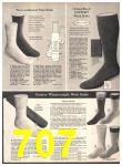 1971 Sears Fall Winter Catalog, Page 707
