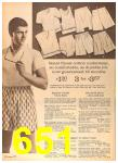1964 Sears Spring Summer Catalog, Page 651