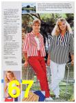1986 Sears Spring Summer Catalog, Page 67