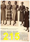 1949 Sears Spring Summer Catalog, Page 215