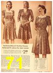1942 Sears Spring Summer Catalog, Page 71