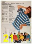 1987 Sears Spring Summer Catalog, Page 21