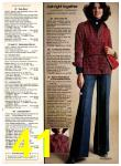 1977 Sears Fall Winter Catalog, Page 41
