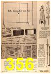 1963 Sears Fall Winter Catalog, Page 356