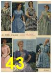 1961 Sears Spring Summer Catalog, Page 43