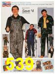 1987 Sears Fall Winter Catalog, Page 539