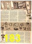 1956 Sears Fall Winter Catalog, Page 183